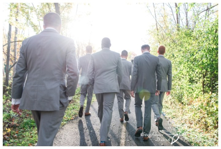 Ottawa-Fall-Wedding-Stephanie-Beach-Photography-groomsmen-portrait-sunflare