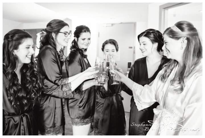 Ottawa-Fall-Wedding-Stephanie-Beach-Photography-prep-bride-champagne-toast