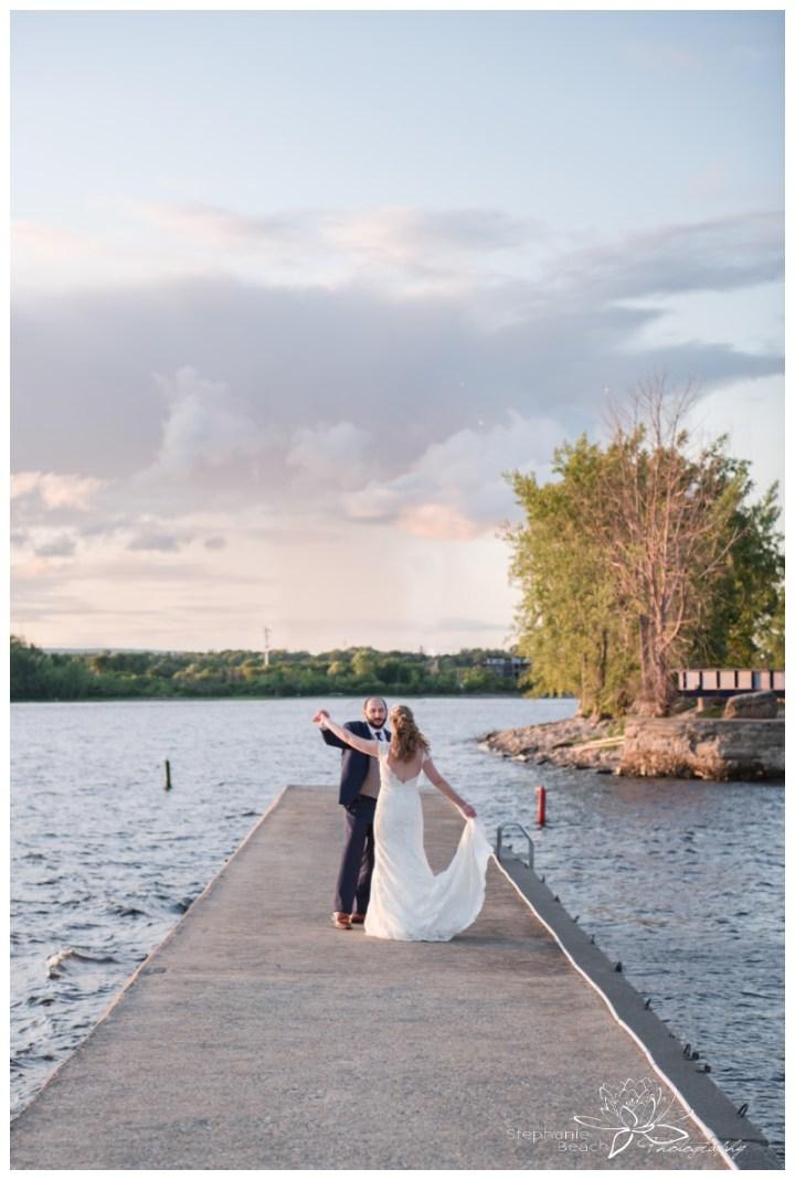 Britannia-Yacht-Club-Wedding-Stephanie-Beach-Photography-sunset