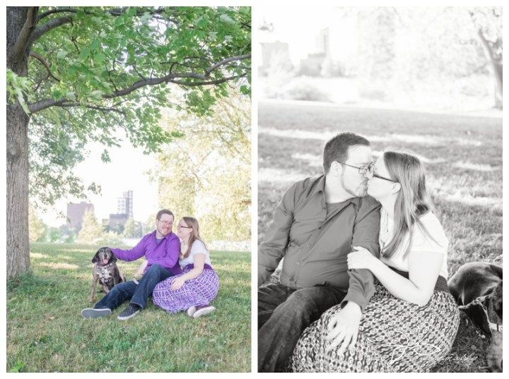 Ottawa-Arboretum-Engagement-Session-Stephanie-Beach-Photography-dog-pet
