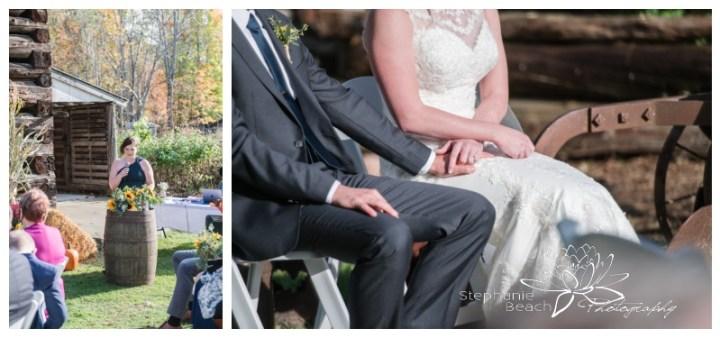 Ottawa-Fall-Backyard-Wedding-Stephanie-Beach-Photography-speech-outdoors-ceremony