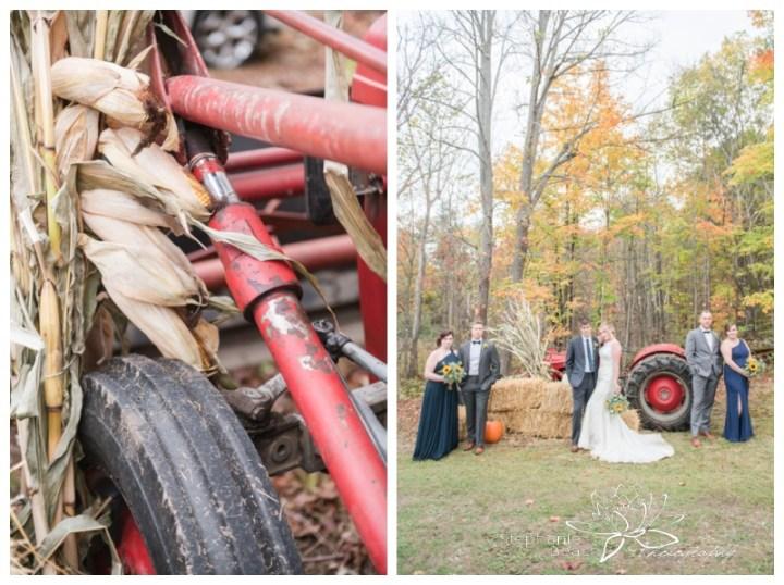Ottawa-Fall-Backyard-Wedding-Stephanie-Beach-Photography-tractor-bridesmaids-groomsmen