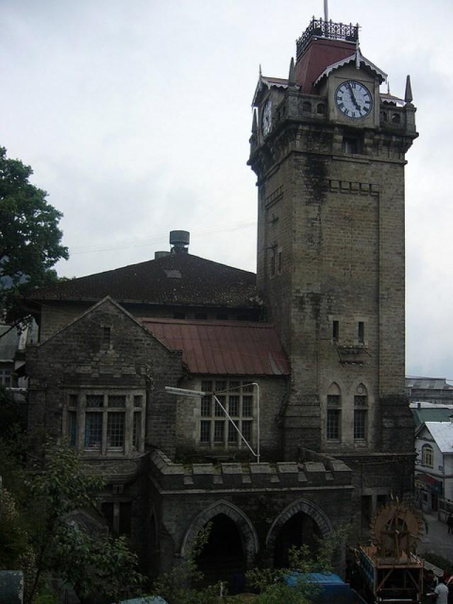 clock tower darjeeling