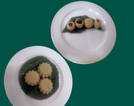 Stuffed Sandesh