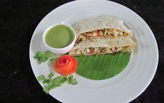 nutritious chapati sandwich