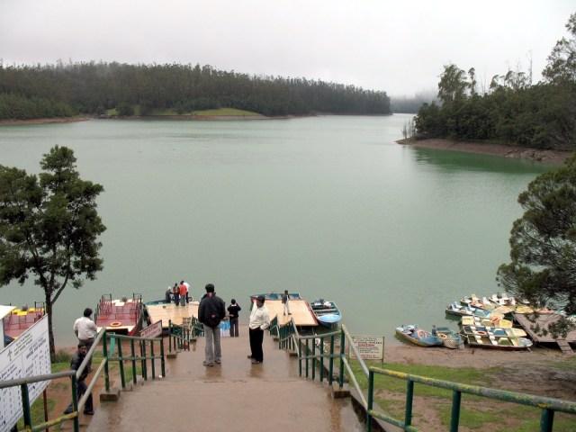 Image Name-Pykara Lake and Pykara falls