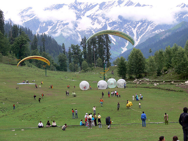 Solang Valley manali pictures-Places to visit in Manali