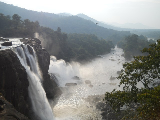athirappilly water falls thrissur kerala images
