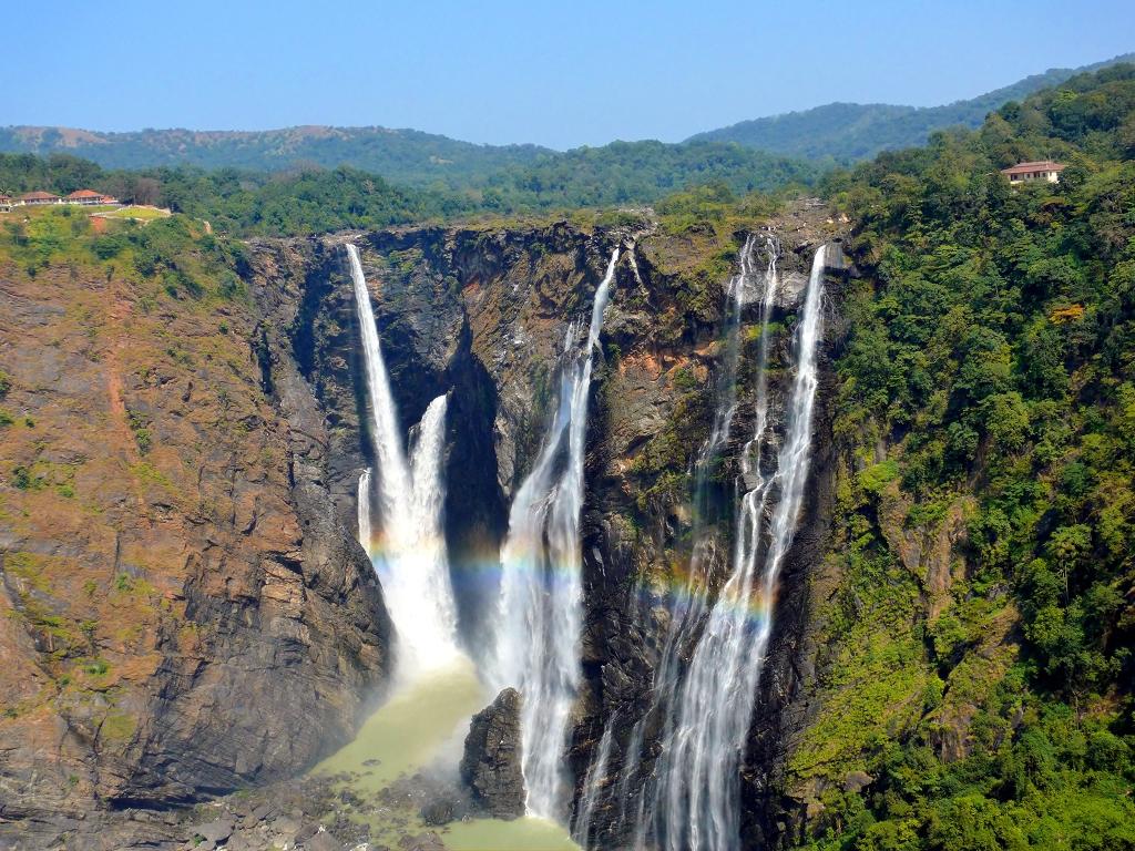 jog falls images karnataka