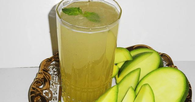 Aam Ka Panna mango drink recipe
