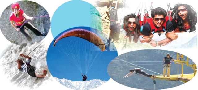 Adventure Sports in Dharamshala Himachal Pradesh