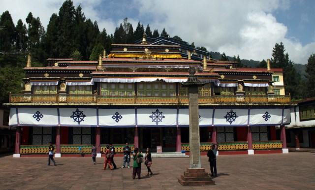 Image Name - Rumtek monastery gangtok sikkim