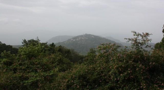 Spectacular View of Yelagiri Hill Top near Swamimalai Temple
