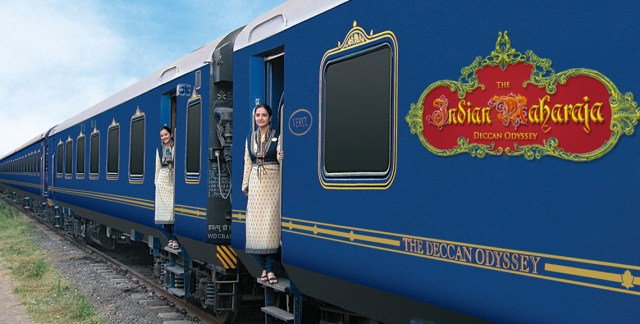 The Deccan Odyssey Luxury Train india Images