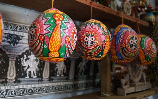 Raghurajpur – A Symbol of Exotic Arts and Crafts