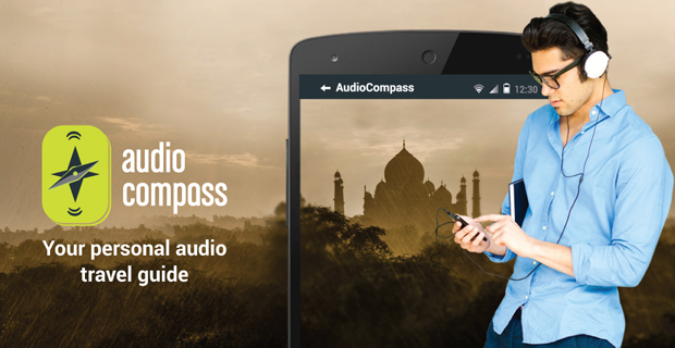 audiocompass travel app
