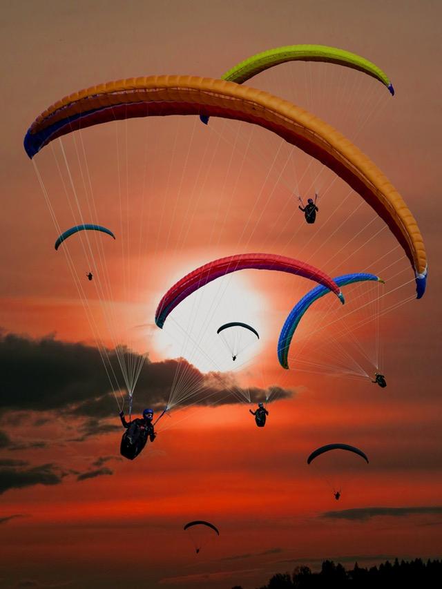 paraglider-paragliding-fly-sun