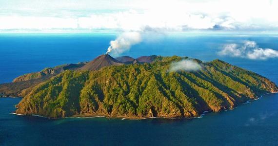 Barren Island, Andaman