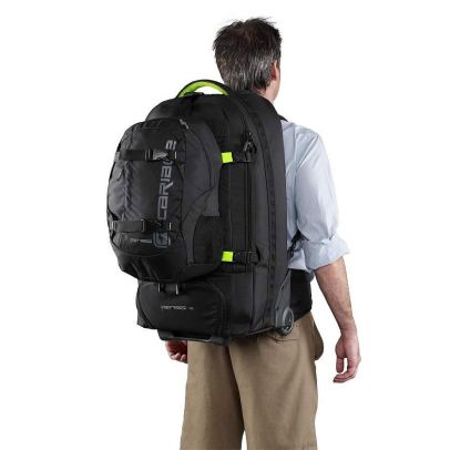 Wheel backpack