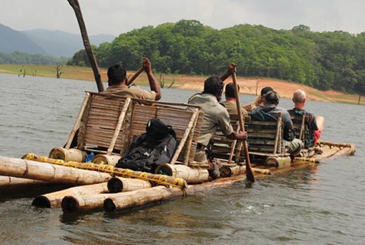 Adrenaline Diaries - Bamboo rafting in Thekkady