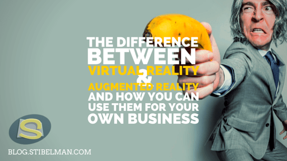 The difference between AR & VR and how you can use them for your business