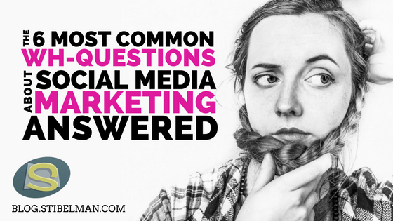 Social media marketing questions are oh so very common. Especially when it comes to businesses who are planning their first ever digital marketing strategy.