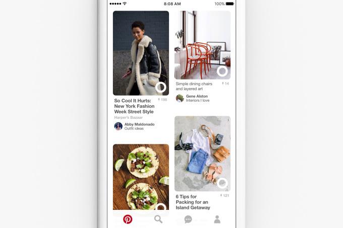 Pinterest's More Ideas feature