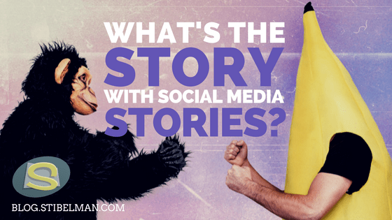 What's the story with social media stories?