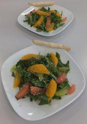 Rucolasalat mit Zitrusfrüchten