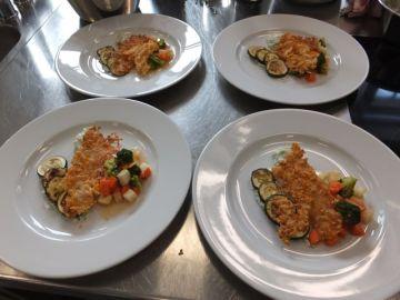 """""""Allerlei Gemüse"""" mit Tortilla-Appenzeller-Chip"""