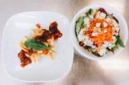 Tortelloni mit Gemüsesauce