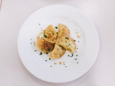 Ravioli mit brauner Butter