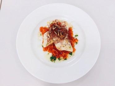 Spargelstrudel mit Tomaten und Gremolata