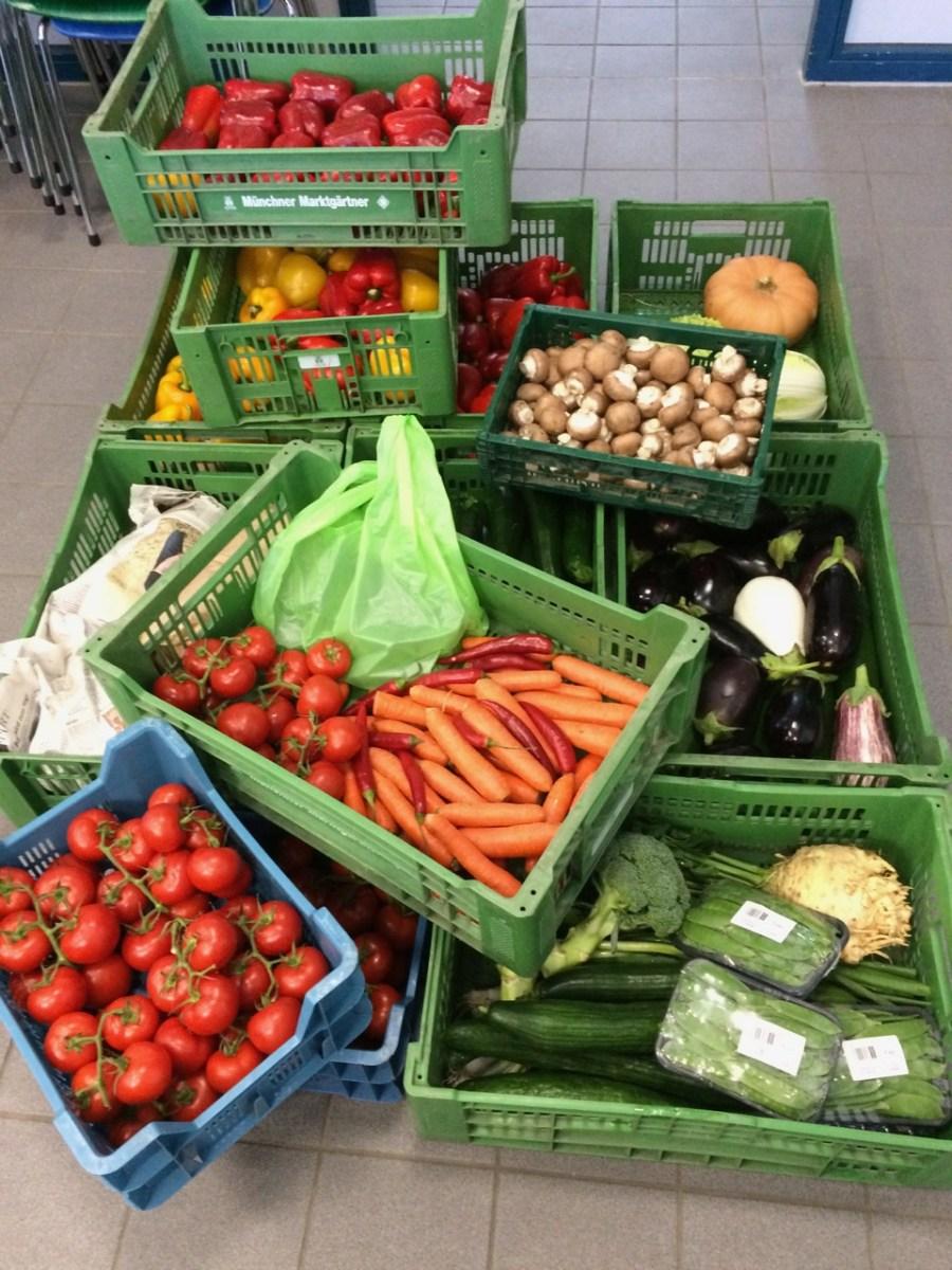 1. Studienjahr Praxis Ernährung/Verschiedenes aus Gemüse (KW 39)
