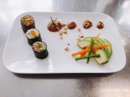 Sushi mit Couscous und Buchweizen