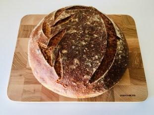 Weizen-Roggen-Brot