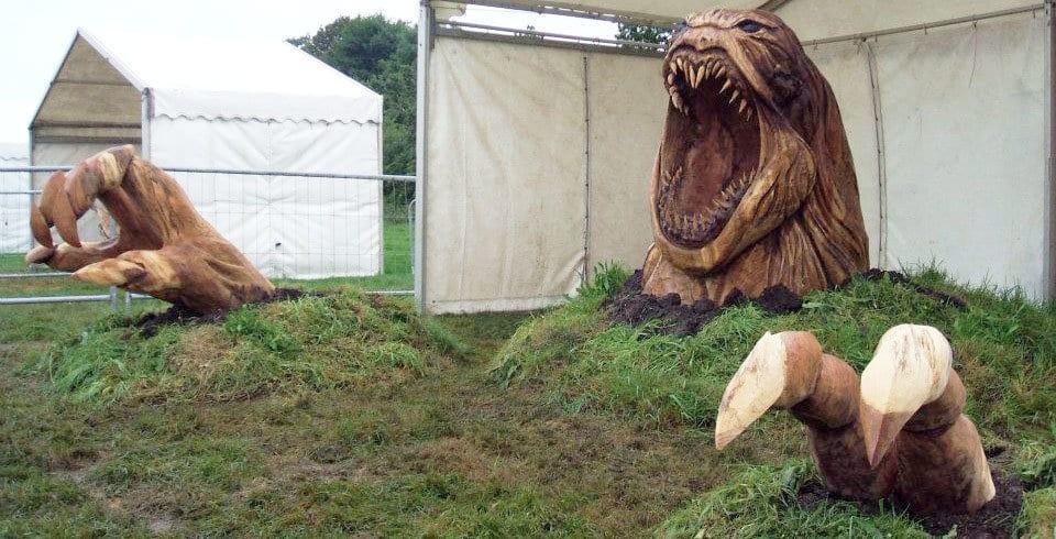 Elképesztő szobrok fából - Te tudnál ilyet készíteni?
