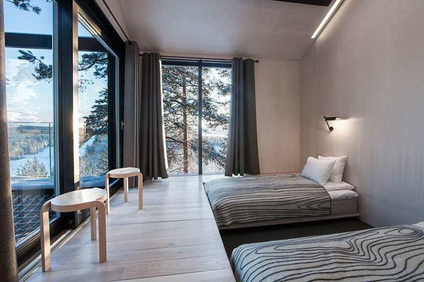 luxus lombház hotel szoba