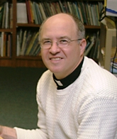 Fr. Steve of St. Joseph's Indian School