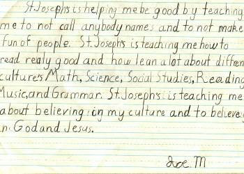 Joe's essay