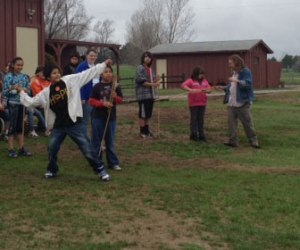 St. Joseph's students learned about ancient hunting techniques on their field trip.