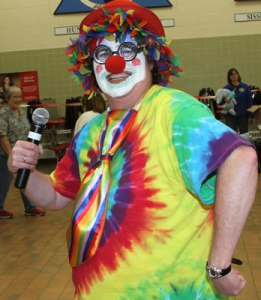 The Lakota children enjoyed a carnival-themed banquet to celebrate their hard work in school.