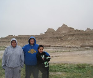 St. Joseph's sixth graders had their class trip to the Badlands National Park in May.