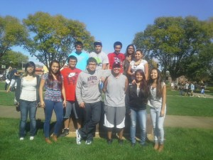 The Lakota (Sioux) students prepare for the future by visiting colleges and tech schools.
