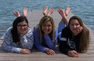 Alyssa, Justina, Haesel
