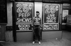 Photo: Bill Murray in Times Square, 1979, by Shepard Sherbell