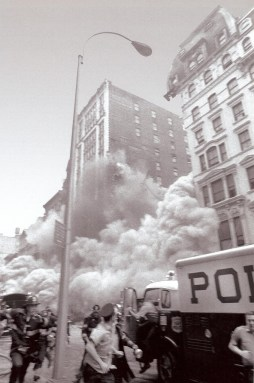 Photo: The Collapse of the Broadway Central Hotel, August 3, 1973, by Anthony Casale/ NY Daily News.
