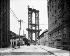 Photo: The Manhattan Bridge - 1908