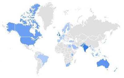 sofa cover trending per region