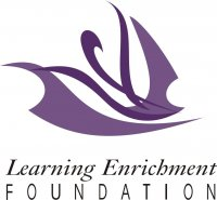 Learning enrichment foundation logo